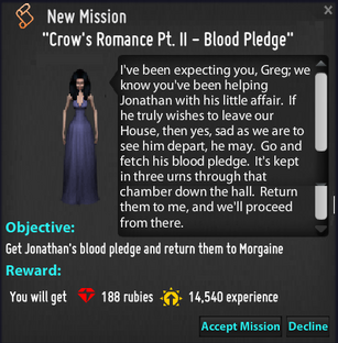 CR pt3 Blood pledge mission