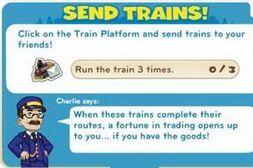 Send Trains