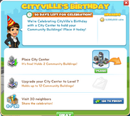 Celebrate CityVille's Birthday!-goal