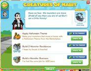Creatures of habit 1