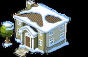 Parkside Villa snow