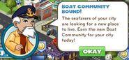 Boat community bound! 1