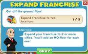 Expand Franchise goals