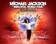 Micheal Jackson The Immortal World Tour