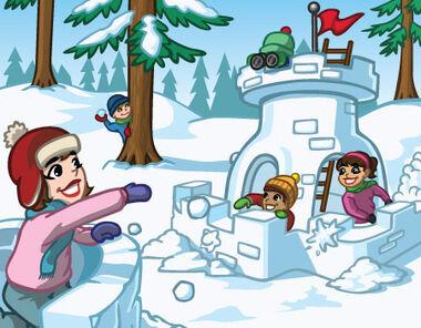 Announce snowballfight