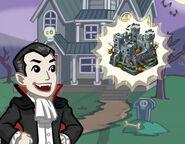 Announce halloween castle