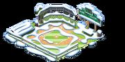 Baseball Field snow