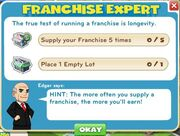 Franchise expert goals