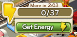 Empty Energy bar