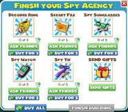 Finish Your Spy Agency