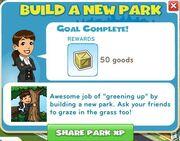 Build a new park complete
