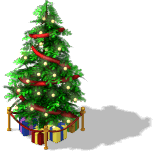 Holiday Tree 2 Level 4-SW