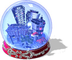 City Snow Globe-SE