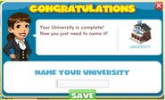 Student center name