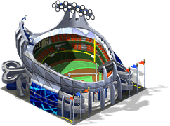 Dtwn deco baseball stadium