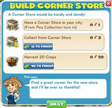 Build Corner Store