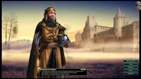 Robrecht III - Flanders War