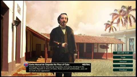 Cuba - Carlos Manuel de Céspedes Peace