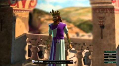 Kingdom of Israel - King David War