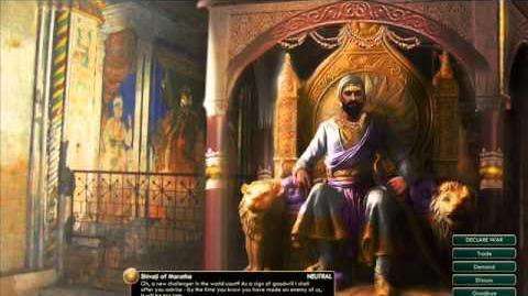 Maratha - Shivaji - Peace