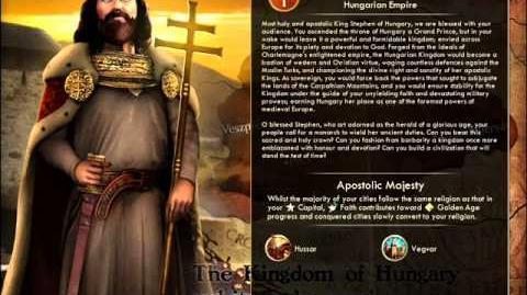 NEW VERSION Kingdom of Hungary - Stephen I War