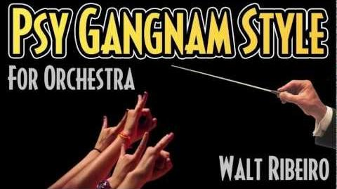 Psy 'Gangnam Style' For Orchestra (Bandcamp links below!)