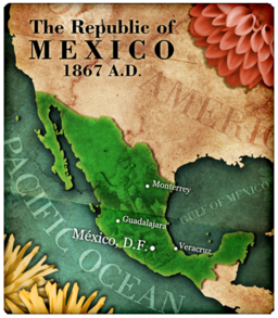 Mexico0Map