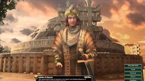 Maurya - Ashoka - Peace