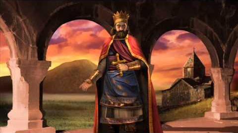 Kingdom of Armenia - Tiridates III Peace