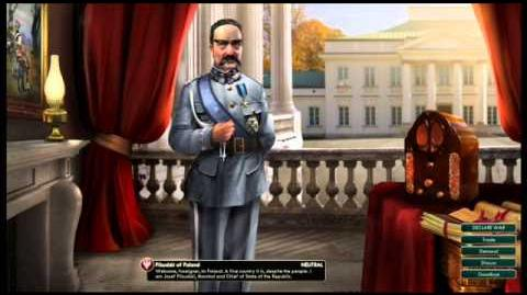 Republic of Poland - Pilsudski Peace