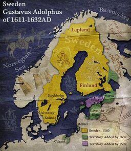 Swedenmap
