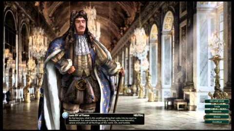 Louis XIV Bourbon France War