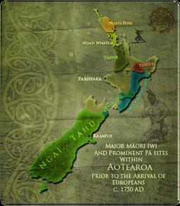 Map MC Maori
