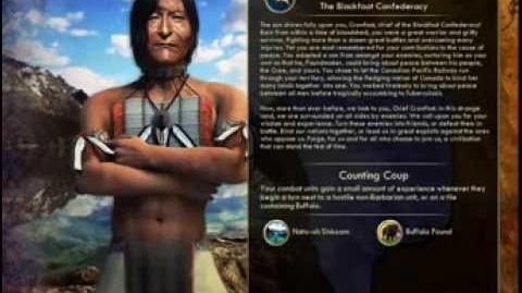 The Blackfoot Confederacy - Crowfoot War