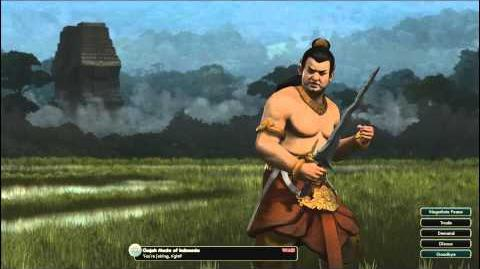 Civilization V OST - Gajah Mada War Theme - Udan Mas