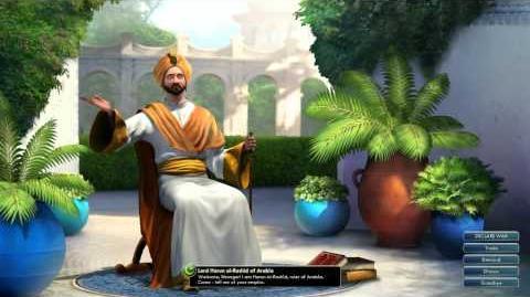 Civilization V OST - Harun al-Rashid Peace Theme - Thikriati; Hijaz Maqam