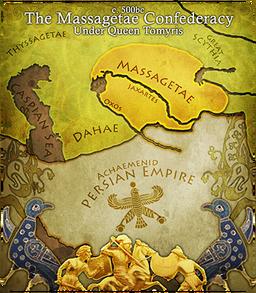 Tcm map massagetae