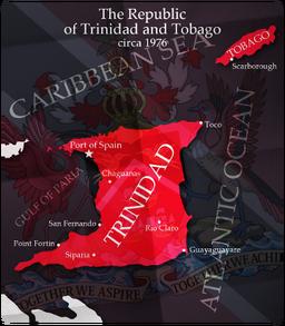 TrinidadTobagoMap