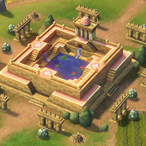Stepwell in game