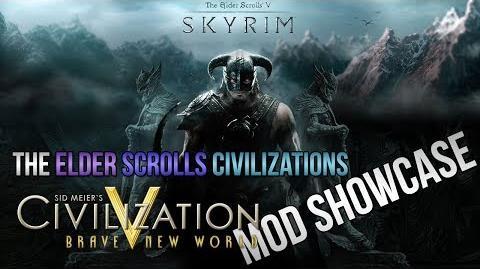 Civilization 5 Mod Showcase - The Elder Scrolls Civilization pack