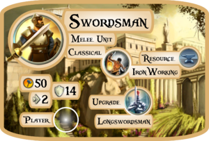 Swordsman Info Card (Civ5)