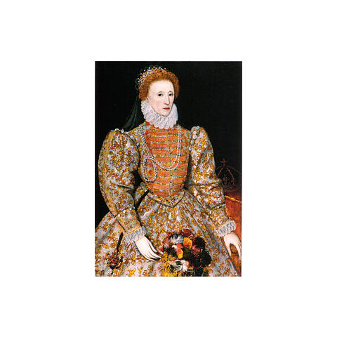 Painting of Queen Elizabeth