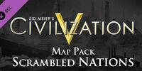 Scrambled Nations Map Pack
