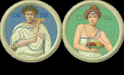 Julius Caesar and Livia (Civ2)