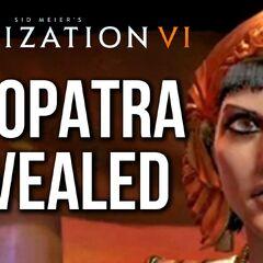 Cleopatra's reveal