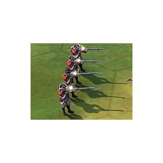Redcoats in game