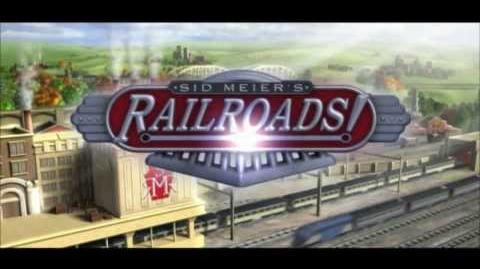 Sid Meier's Railroads! intro video (trailer) HD