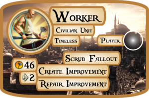 Worker Info Card