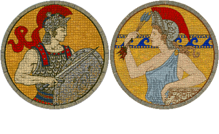 Alexander the Great and Hippolyta (Civ2)
