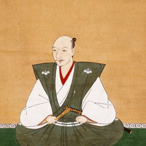 Portrait of Oda Nobunaga, by Kanō Motohide